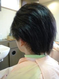 男性縮毛矯正 【縮毛矯正施術前 (男)】