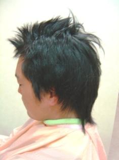 男性縮毛矯正